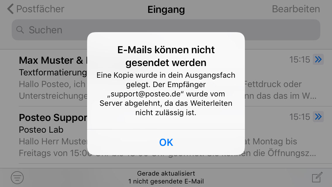 Empfang Iphone