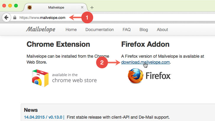 Help - How do I install the Firefox add-on Mailvelope? - posteo de